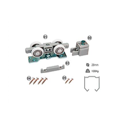 Sistema Deslizante PF100V Perfil