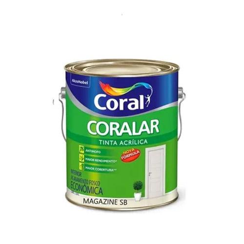 Tinta Acrílica Coralar 900ml